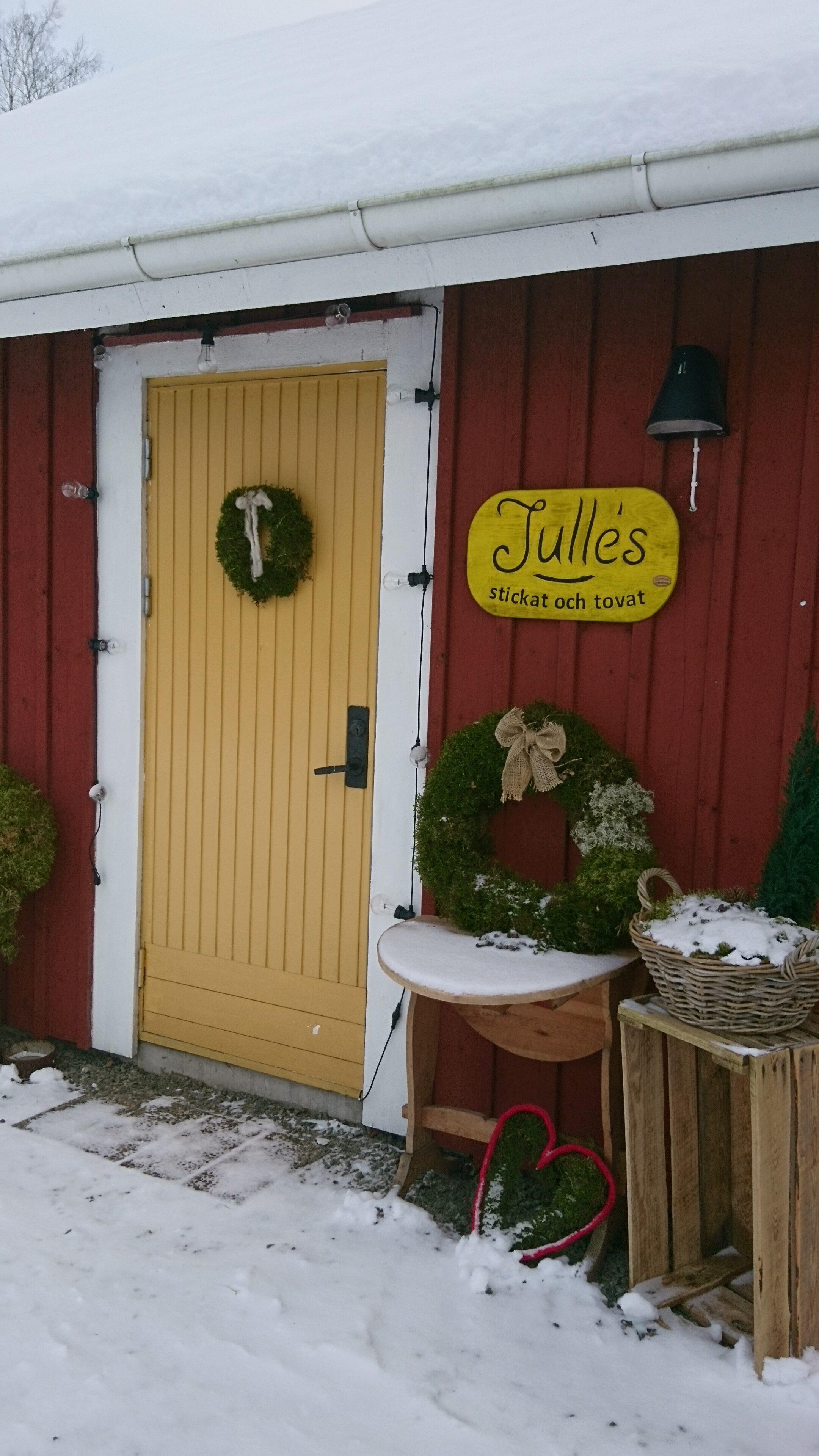 Öppettider för Julle's bod: